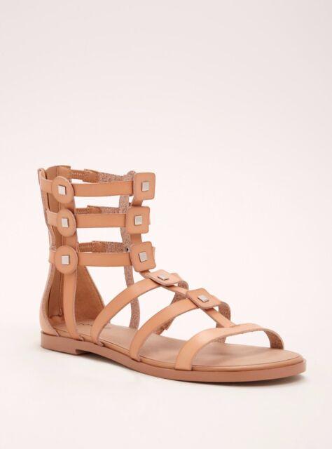 30137b3ccf7 Torrid Studded Gladiator Strap Sandals Wide Width 7  22158