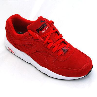 Puma 359392.02 Sneaker R698 ALLOVER SUEDE rot Wildleder