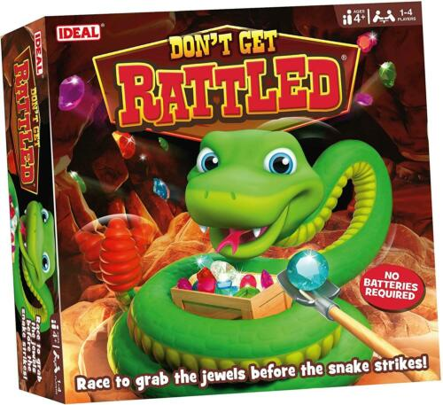 Don/'t Get Rattled Game Race To Grab The Jewels Before The Snake Strikes