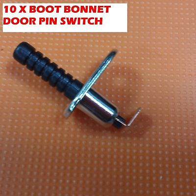 10 x CUT TO LENGTH BONNET BOOT ALARM SWITCH DOOR PIN SWITCH