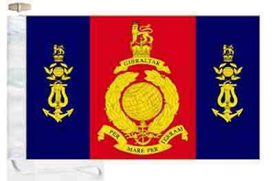 RM Roped Courtesy amp; of Boat Flag Music Royal Marines Toggled School OwqFx5Uf