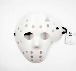 Jason-Maske-Freitag-der-13-Halloween-Kostuem-Hockey-Maske-weiss
