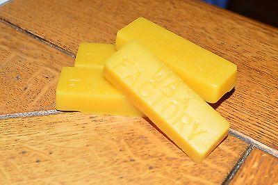 Beeswax Blocks - 4 x 25g - Premium Pure Beeswax