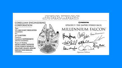DeAGOSTINI X-WING specs signature Plaques 3x7