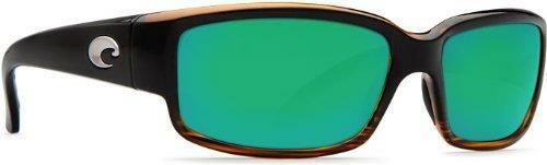 New Costa del Mar Caballito Polarized Sunglasses Coconutverde Mirror 400G Glass
