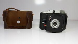 Vintage Ansco Flash Clipper Camera with Case No Strap