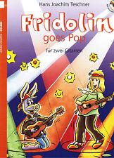 Gitarre Noten : Fridolin goes Pop  Band 1  mit CD  -  leichte Mittelstufe