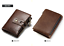 Men-Women-Genuine-Leather-Cowhide-Trifold-Wallet-Credit-Card-ID-Holder-Purse-New thumbnail 16