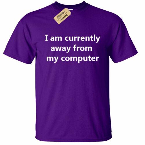 KIDS BOYS GIRLS I am currently AFK T Shirt Funny geek nerd computer gamer gift