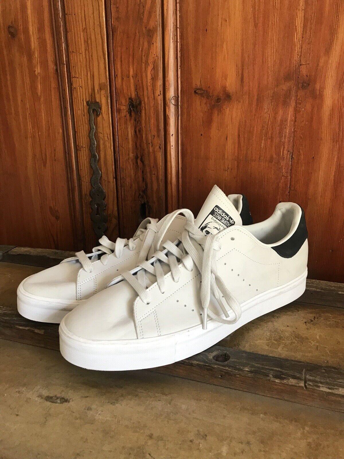 Gamuza Para Hombre Adidas Originals Stan Smith Calzado para Tenis Suede Negro