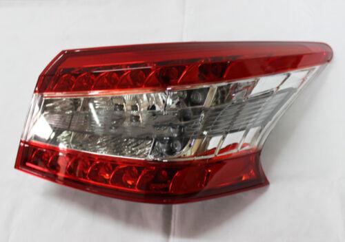 Tail Light Passenger Side Outer Lamp Rear Light For Nissan Sentra 2013-2014