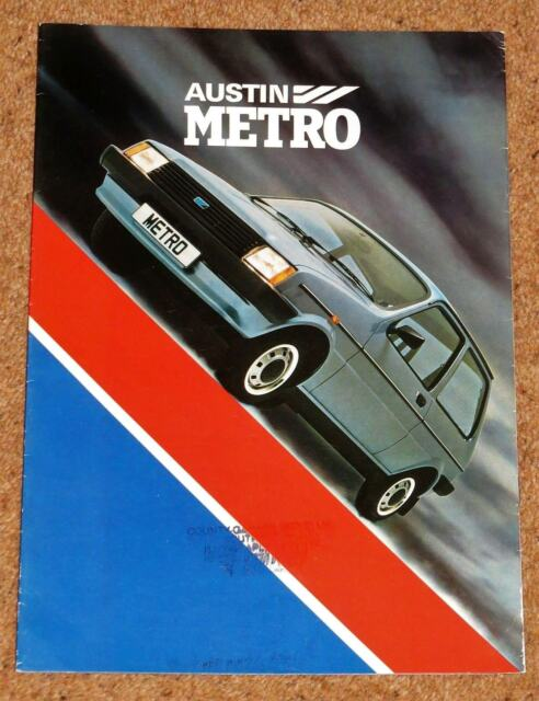 Austin Mini Metro Launch Brochure 1980 For Sale Online Ebay