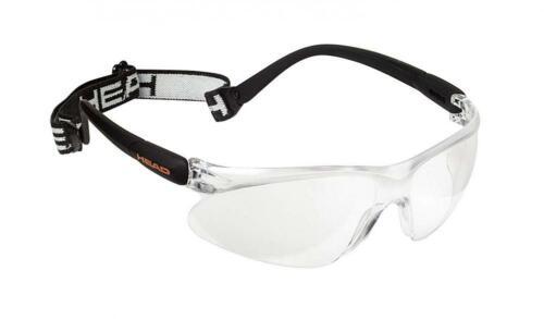 HEAD Racquetball Goggles CLear Impulse Anti Fog /& Scratch Resistant Each
