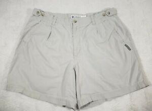 Columbia-Womens-Hiking-Shorts-Size-16-Beige-Outdoors-Inseam-6-034-Bermuda