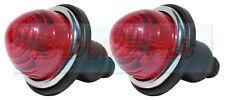 2x REAR STOP/TAIL LAMP LIGHT CLASSIC MINI MORRIS MINOR TRAVELLER AS LUCAS L594