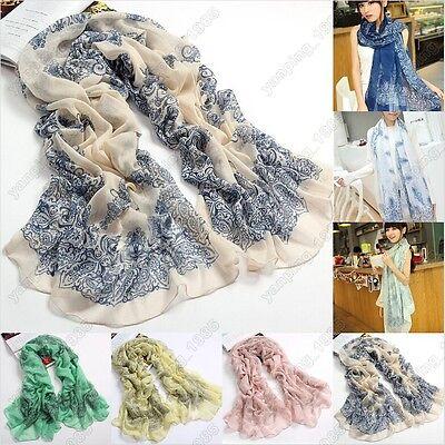 2015 Fashion New Fashion Women Ladies Vintage Long Scarf Shawl Wrap Scarves