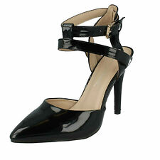 a57058af75d item 8 ANNE MICHELLE LADIES POINTED TOE BUCKLE ANKLE STRAP STILETTO HEEL  SHOES F9760 -ANNE MICHELLE LADIES POINTED TOE BUCKLE ANKLE STRAP STILETTO  HEEL ...