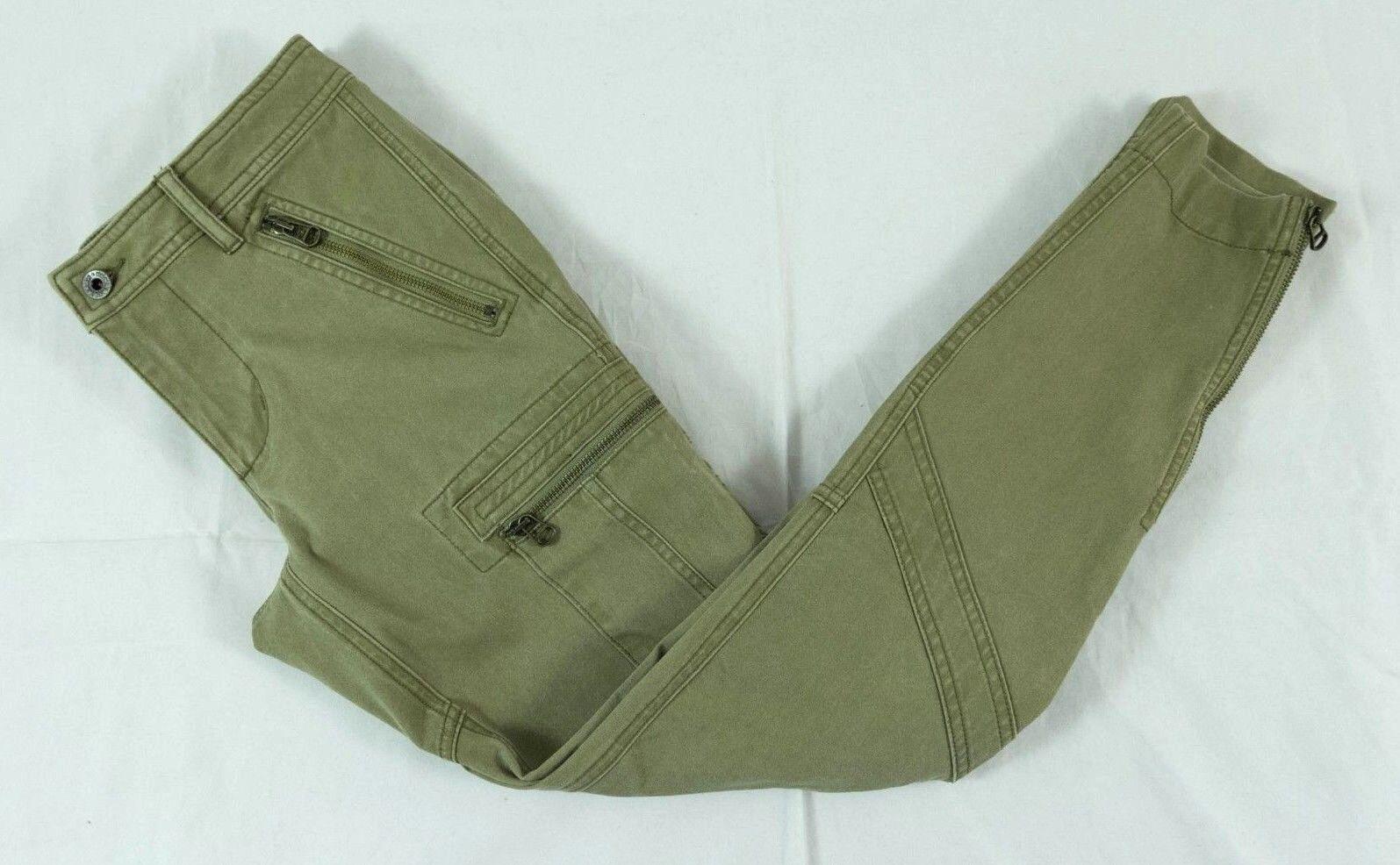 Ralph Lauren Green Cotton Blend Pants Sz. 12  BNWT 100% Authentic