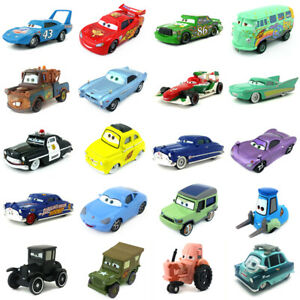 Detalles de Disney Pixar Cars 2 Lightning McQueen Mater 1:55 Coche Modelo de Metal Fundido Juguetes ver título original