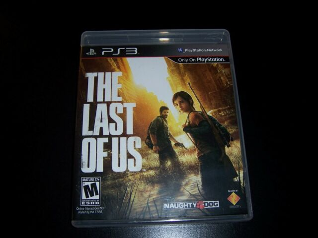Replacement Case (NO GAME) THE LAST OF US PLAYSTATION 3 PS3