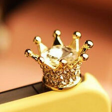 3.5mm Crown Anti Dust Earphone Plug Cover Stopper Cap For Cell Phone ColorfulMWU