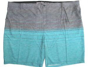 44acfaff96 Mossimo Supply Men's Swim Shorts Trunks Blue Turquoise Coupler, Big ...