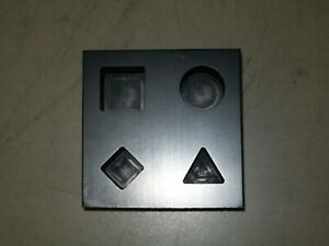 Graphite 4-in-1 Basic Shape Mold Hot Glass Working