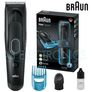 braun hc5010 li ion washable mens hair beard clipper trimmer long lasting. Black Bedroom Furniture Sets. Home Design Ideas