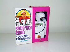 Denys Fisher L'uomo sei milioni di dollari Back Pack Radio 1973