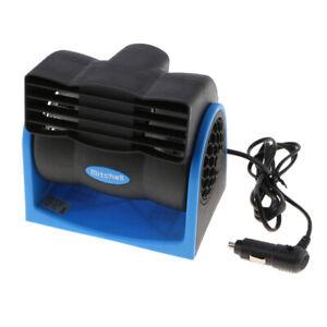 NEW-Universal-Auto-Klimaanlage-12V-DC-Schwarz-Tragbare-Mini-Kuehlung