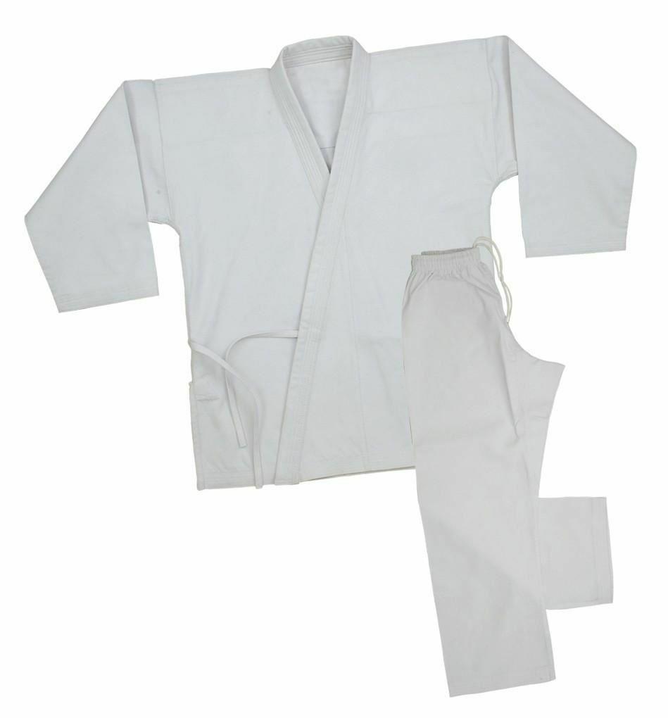 White Karate Student  Uniform 6oz  come to choose your own sports style