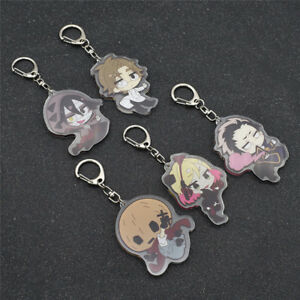 1pc Angels of Death Keychain Fans Gifts Anime Key Rings Jewellery Accessories