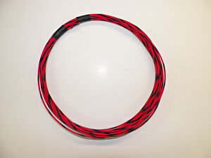 AUTOMOTIVE WIRE 18 GAUGE HIGH TEMP GXL 25 FEET GREEN//RED MOTORCYCLE CAR TRUCK