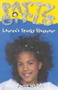 Lauren-039-s-Spooky-Sleepover-Party-Girls-Walters-Jennie-Very-Good-Book