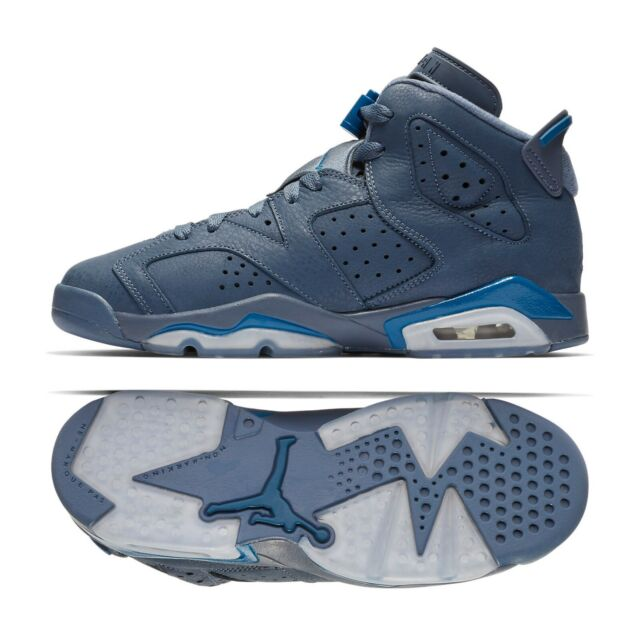 new product 3e754 ef08f Nike Air Jordan 6 Retro Jimmy Butler (gs) 384665-400 Diffused Blue Shoes Sz  6y