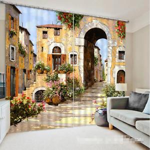 3d SLT casa 546 bloqueo foto cortina cortina de impresión sustancia cortinas de ventana
