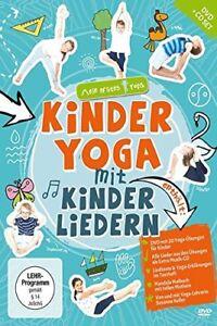 KINDERYOGA-mit-KINDERLIEDERN-DVD-CD-Mandala-Malbuch-NEU-und-eingeschweisst
