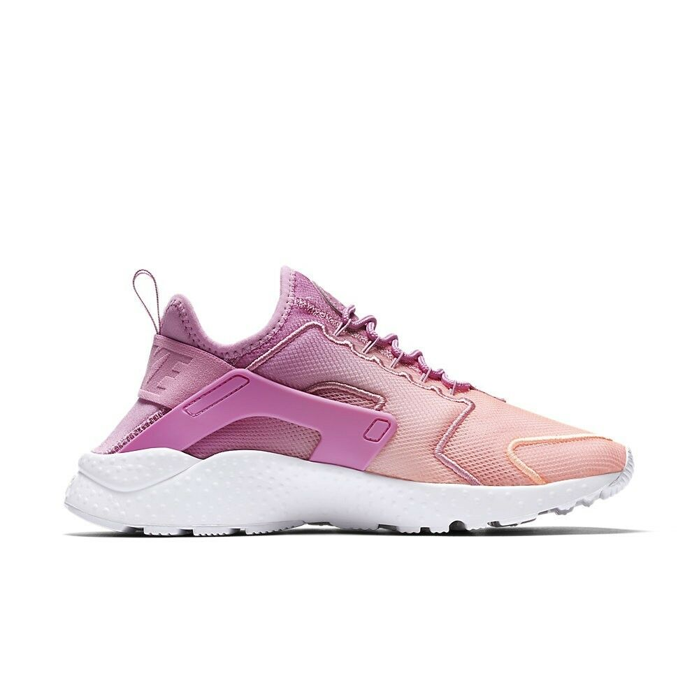 Size 11 Nike Women Air Huarache Ultra Breathe shoes 833292 501 PinkWhiteFlamingo