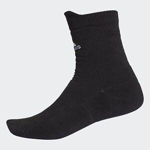 100% De Qualité Adidas Tennis Alpha Peau Sport Crew Sock Noir-cg2654-afficher Le Titre D'origine Vente Chaude 50-70% De RéDuction