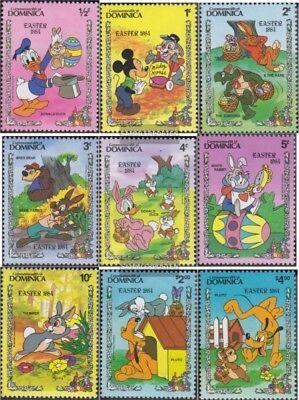 Neuf Avec Gomme Originale 1984 Walt-disney- Dominique 841-849 complète Edition