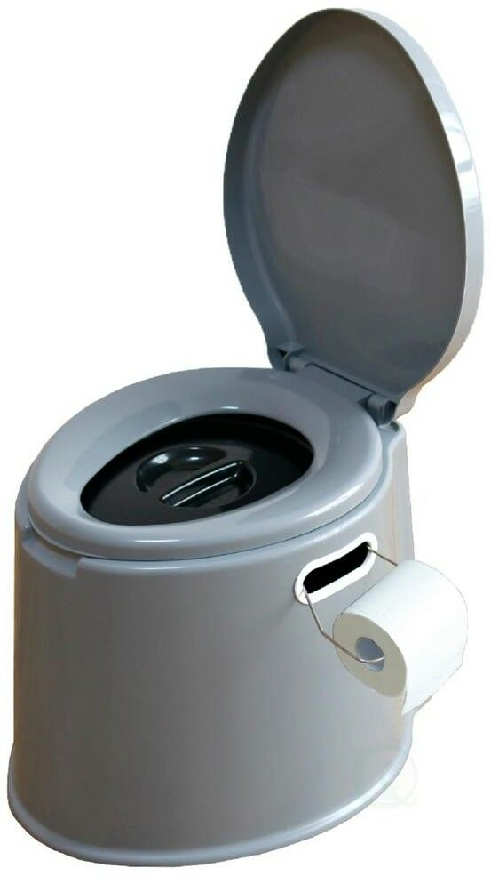 PLAYBERG Portable Travel Toilet For Camping and Hiking, Non-electric Waterless