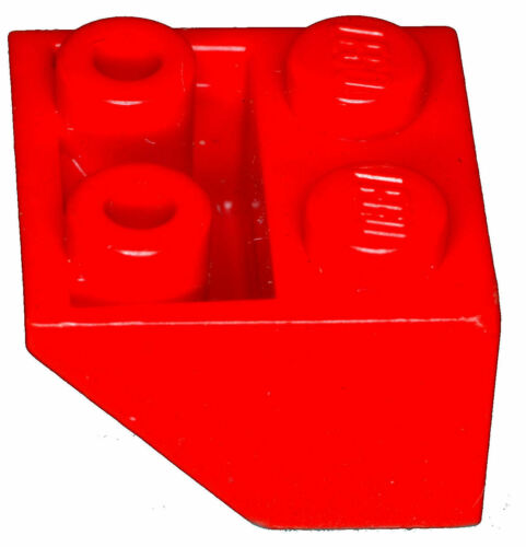 Manca il mattoncino LEGO 3660 Red x 5 Brick INCLINAZIONE 45 2 x 2 invertiti