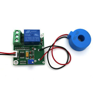 US-DC12V-AC-50A-AC-Current-Sensor-Module-Detection-Module-Switch-Output