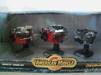 American Muscle - Corvette Engine Set - 1957 283 / 1967 427 / 1997 ls1