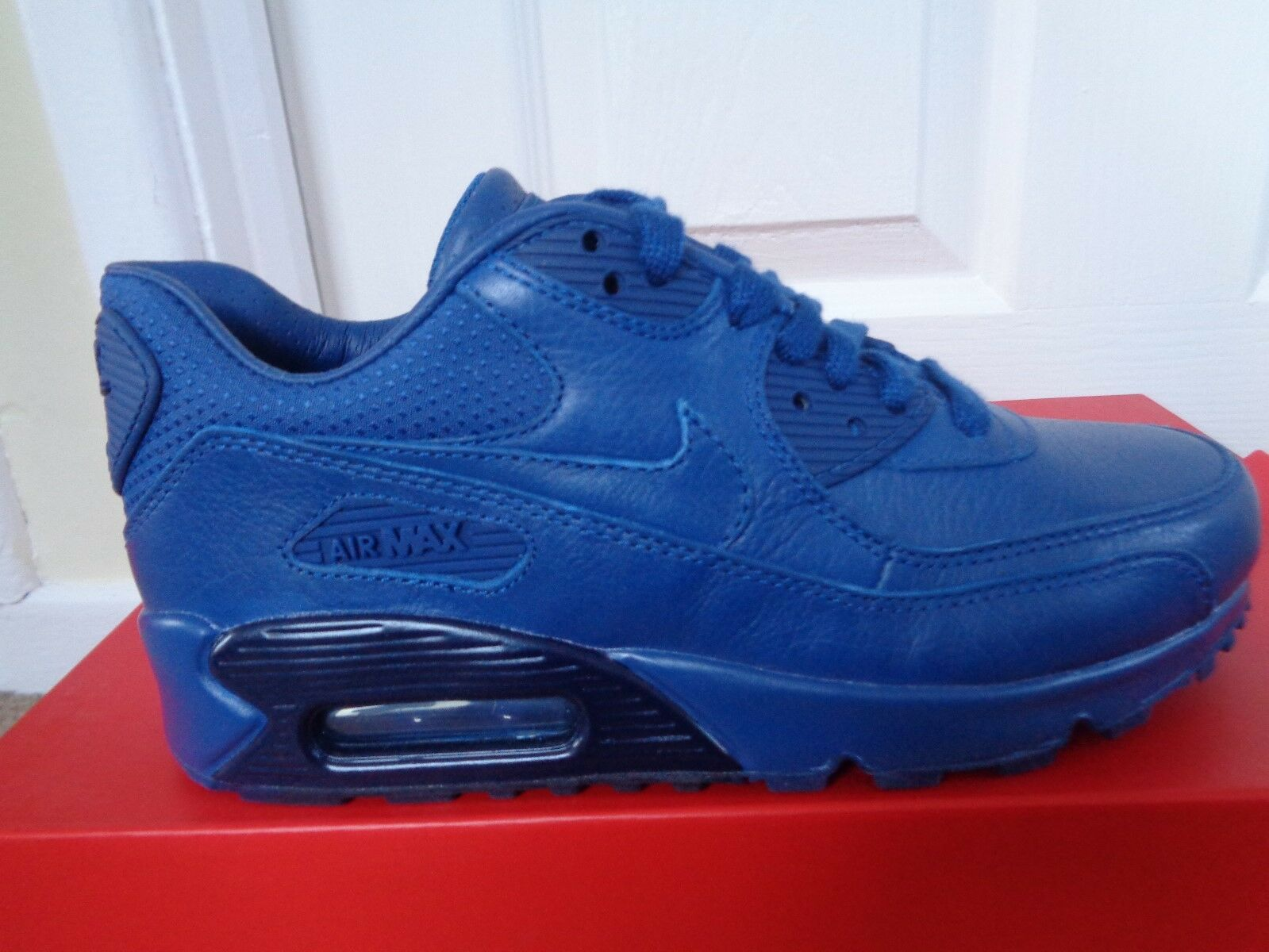 Nike Air Max 90 Zapatos Entrenadores Pinnacle 829612 400 nos 5.5 Nuevo + Caja