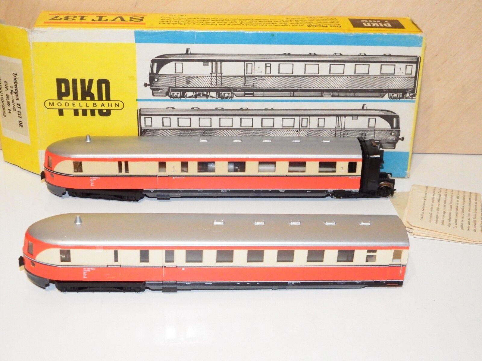 H0 Piko Svt 137 Fast Railcar Dr VT 137 154 Mip 8623