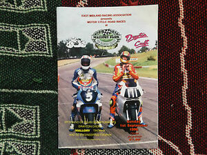 1996 MALLORY PARK MOTORCYCLE PROGRAMME 1996  DRAYTON CROFT ROUND 6 - <span itemprop=availableAtOrFrom>Wisbech, Cambridgeshire, United Kingdom</span> - If there is a problem (damaged or faulty) with your item, we will refund or replace the item if returned to us within 7 days. Most purchases from business sellers are prot - Wisbech, Cambridgeshire, United Kingdom