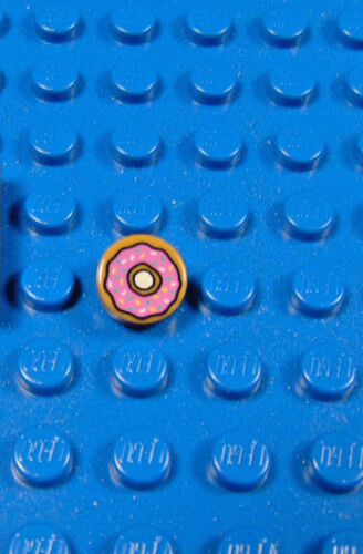 LEGO MINIFIGURES SERIES 1 THE SIMPSONS X 1 DOUGHNUT FOR HOMER SIMPSON NEW PARTS