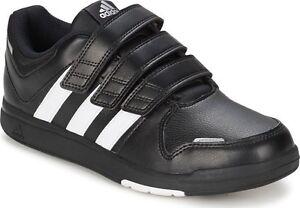 New Adidas LK Trainer 6 CF K Kids Junior Black   White  3ed9672169