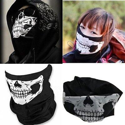 Multi Use Skull Motorcycle Bike Helmet Scarf  Neck Face Mask Ski Sport Headwear